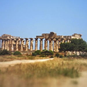Parco archeologico - Selinunte