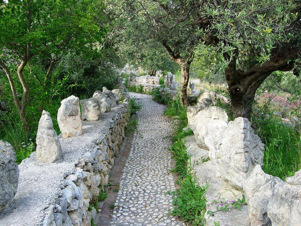 Giardino incantato a sciacca opera di filippu di li testi - Il giardino di ausonia ...