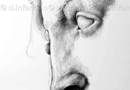 Studio di una scultura di Michelangelo