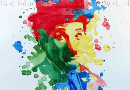 he power of color - Charlie Chaplin
