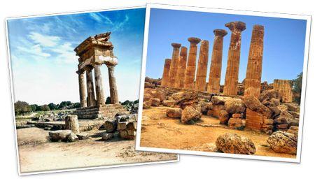 Tempio dei Dioscuri e Tempio di Eracle