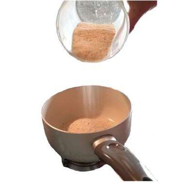 Abbrustolire il pan grattato