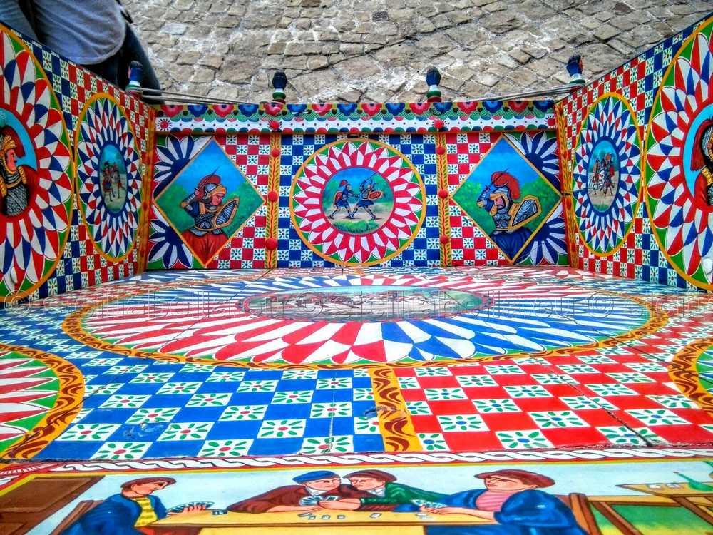 Decorazioni Carretto Siciliano.Il Carretto Siciliano Da Strumento Da Lavoro Ad Opera D Arte